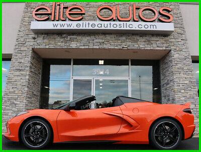 2021 Orange Chevrolet Corvette     C7 Corvette Photo 1