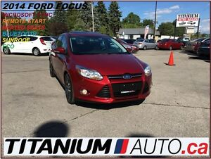 2014 Ford Focus Heated Seats+Sunroof+SYNC+Keyless Start+Bluetoot