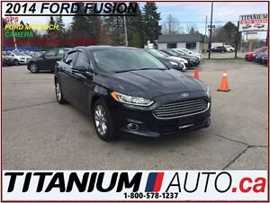 2014 Ford Fusion GPS+Camera+Leather+EcoBoost+Ford MyTouch+New Ti