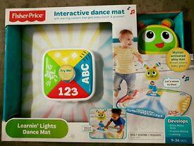 Fisher price interactive dance mat