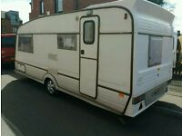 1996 4 berth award caravan