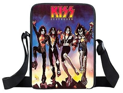 *KISS* Inspired Small Messenger Bag. (Brand New)