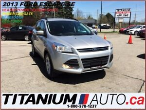 2013 Ford Escape 4WD+GPS+Heated Leather+Power Lift Gate+New Brak
