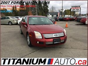 2007 Ford Fusion New Tires & Brakes+AUX+Traction & Cruise Contro London Ontario image 1