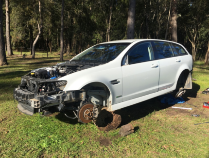 Wrecking: 2010 Holden VE SV6 Auto Wagon Statutory Write Off Medowie Port Stephens Area Preview