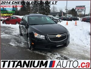 2014 Chevrolet Cruze LT+Sunroof+My Link+Camera+Remote Start+Blue