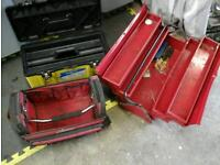 2 Toolboxes and bag