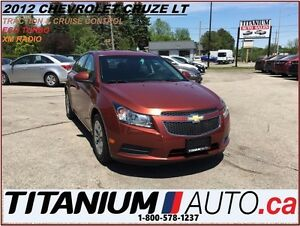 2012 Chevrolet Cruze LT Turbo+Traction & Cruise Control+XM Radio