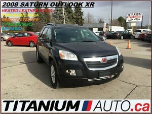 2008 Saturn Outlook XR+7 Passengers+Pano Roof+Leather Heated Sea