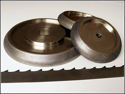 Top Cbn Grinding Wheels For Band Saws Borazon Elboric Saw Sharpening Wood Mizer