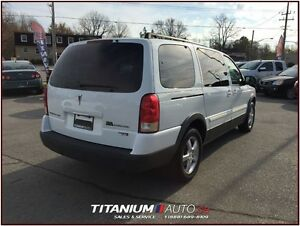 2005 Pontiac Montana SV6+DVD+Extended+One Owner+Front & Rear A/C London Ontario image 2