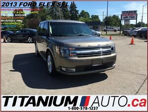 2013 Ford Flex SEL+GPS+Camera & Sensors+Heated Leather Seats+R.S