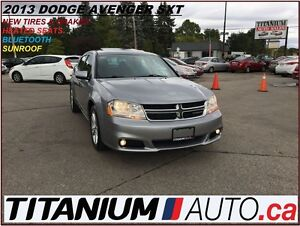 2013 Dodge Avenger SXT+BlueTooth+Heated Seats+Sunroof+New Tires&