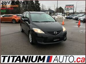 2010 Mazda MAZDA5 GS+6 Passengers+New Tires+Keyless+Dual A/C+Tin
