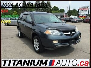 2004 Acura MDX Touring+AWD+7 Passengers+Bose+Heated Leather Seat