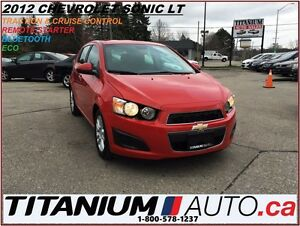 2012 Chevrolet Sonic LT+Remote Start+BlueTooth+Traction & Cruise