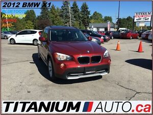 2012 BMW X1 XDrive+AWD+Pano Roof+BlueTooth+USB & AUX Input++++