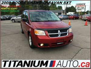 2008 Dodge Grand Caravan SXT+Stow N Go+Remote Starter+Power Padd
