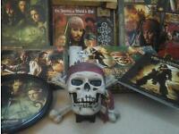 Pirates of the Caribbean Games, Books, Jigsaws, clock etc