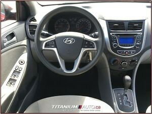 2012 Hyundai Accent GLS+USB & AUX Input+Auto+Traction & Cruise C London Ontario image 10