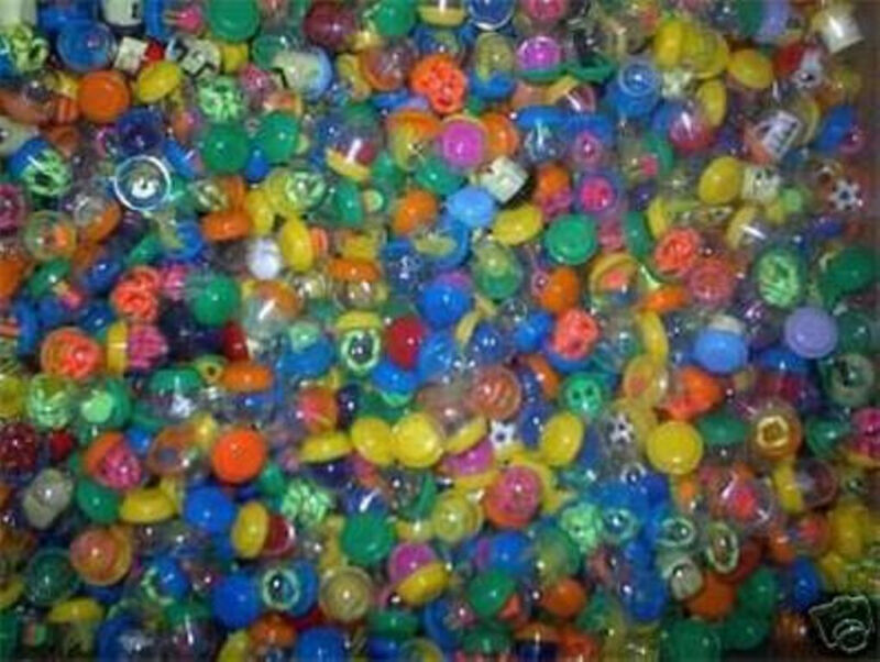 "250 VENDING TOYS 2"" CAPSULES TOY FILLED 2 INCH BULK MIX PARTY FAVOR MACHINE"