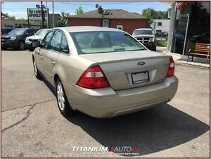 2006 Ford Five Hundred Limited+Heated Leather Memory Seats+Back  London Ontario image 4