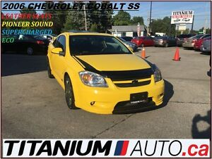 2006 Chevrolet Cobalt SS Supercharged+Sunroof+Leather Seats+Pion