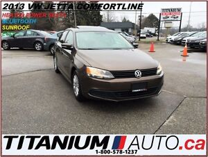 2013 Volkswagen Jetta Comfortline+Sunroof+BlueTooth+Heated Power