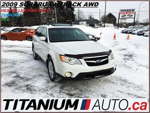 2009 Subaru Outback Limited+AWD+Sunroof+Heated Leather Power Sea