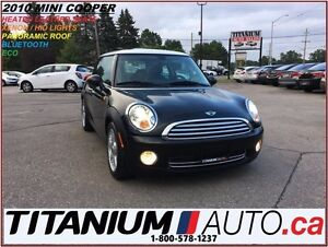 2010 MINI Cooper Panoramic Roof+HID Lights+Heated Leather Seats+