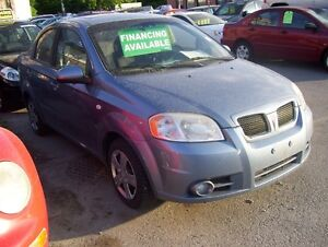 2008 Pontiac Wave ONLY 140,000 KMS, POWER ROOF -CERT/EMIS