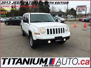 2013 Jeep Patriot Sport+4x4+North Edition+Cruise & Traction Cont