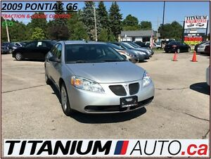 2009 Pontiac G6 ECO 4 Cylinders+Traction & Cruise Control+Keyles