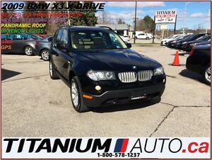 2009 BMW X3 3.0i X-Drive+GPS+Pano Roof+HID Lights+BlueTooth+++
