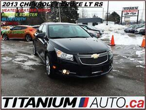 2013 Chevrolet Cruze RS+2LT Turbo+GPS+Camera+Heated Leather Powe