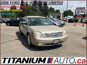 2006 Ford Five Hundred Limited+Heated Leather Memory Seats+Back  London Ontario image 1