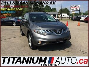 2013 Nissan Murano SV+AWD+Camera+Pano Roof+Heated Power Seats+Bl