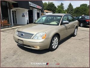 2006 Ford Five Hundred Limited+Heated Leather Memory Seats+Back  London Ontario image 5