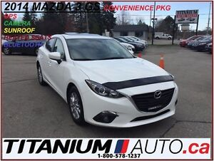 2014 Mazda MAZDA3 GS+GPS+Camera+Sunroof+Bluetooth+New Brakes+SKY