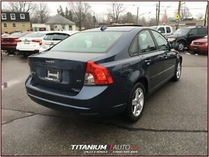 2008 Volvo S40 Heated Sport Seats+Sunroof+Dynaudio Premium Sound London Ontario image 2