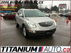 2008 Buick Enclave CX+DVD+7 Passengers+Remote Starter+Power Gate