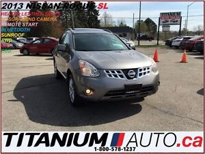 2013 Nissan Rogue SL+AWD+GPS+3D Camera+Leather+Sunroof+BlueTooth