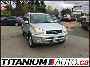 2003 Toyota RAV4 4WD+Keyless Entry+Cruise Control+Power Group+++