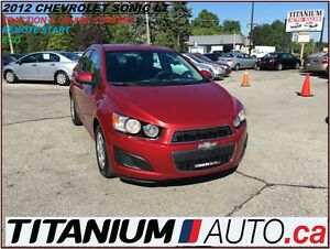 2012 Chevrolet Sonic LT+Remote Starter+BlueTooth+Traction & Crui