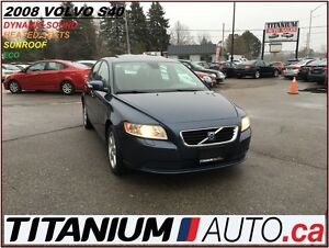 2008 Volvo S40 Heated Sport Seats+Sunroof+Dynaudio Premium Sound London Ontario image 1
