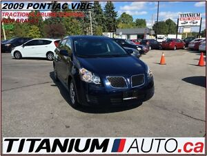 2009 Pontiac Vibe Traction & Cruise Control+New Brakes+Keyless+P