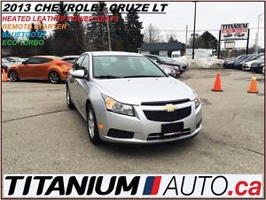 2013 Chevrolet Cruze LT-2+Heated Leather Seats+Remote Starter+Bl