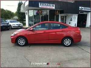 2012 Hyundai Accent GLS+USB & AUX Input+Auto+Traction & Cruise C London Ontario image 8