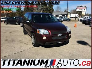 2008 Chevrolet Uplander Traction & Cruise Control+Keyless+7 Pass
