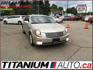 2005 Cadillac CTS AS-IS+++++++++++2.8L+Heated Leather Seats+Sunr